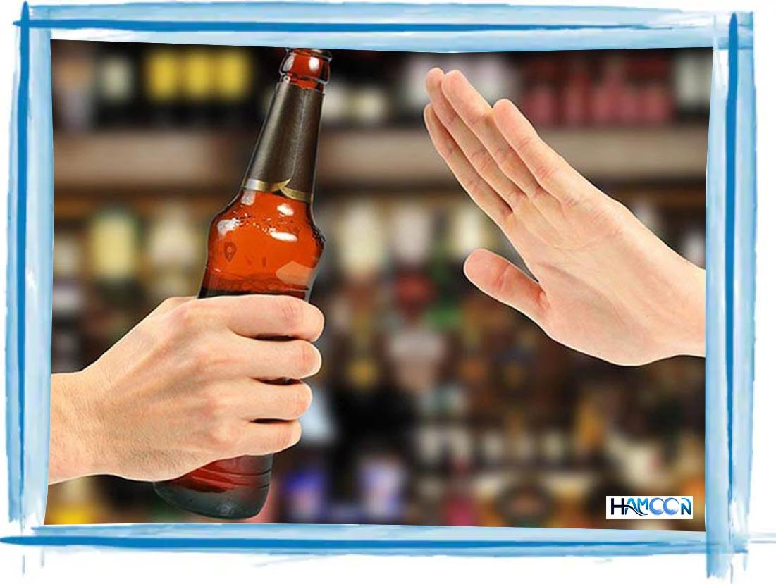 برای لاغری صورت از الکل پرهیز کنید