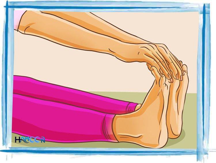 انگشت پا درمان واریس با ورزش