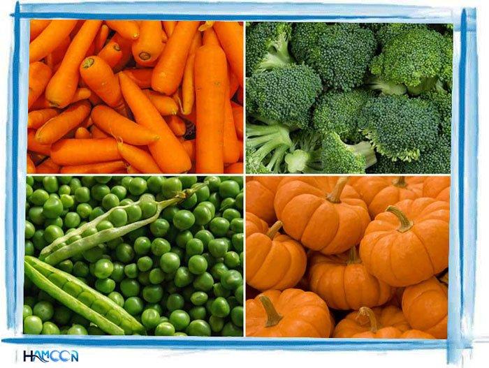 کودک نوپا و سبزیجات