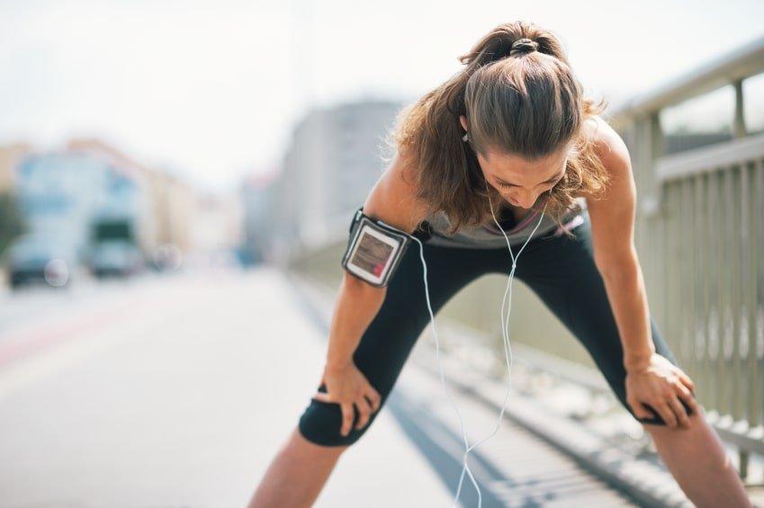 لرزش و ضعف بعد از ورزش