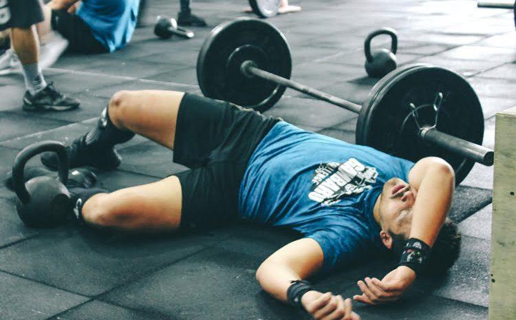لرزش پس از تمرین ورزشی