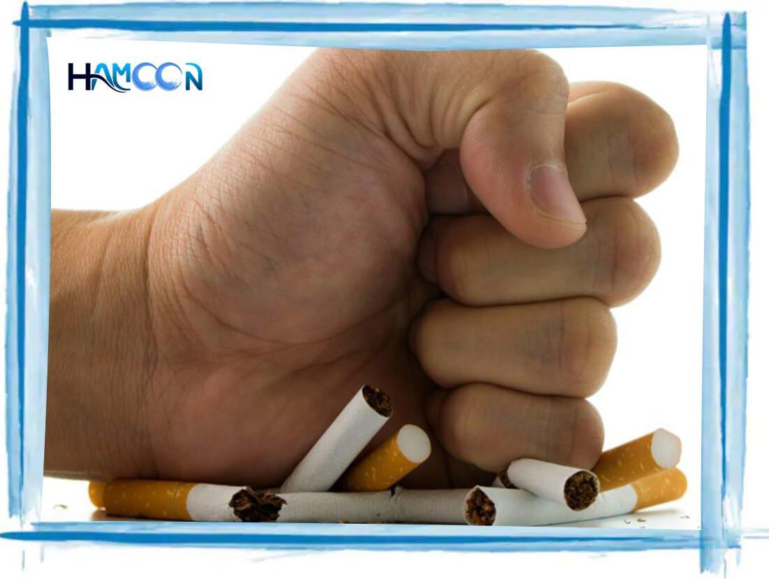 ترک سیگار جراحی شکم